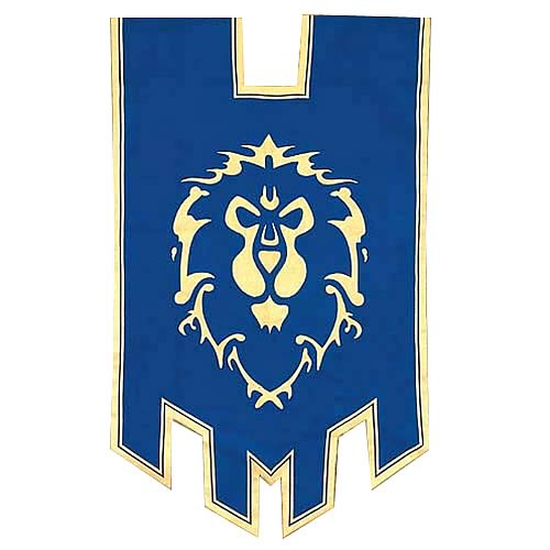 World of Warcraft Alliance War Flag Replica