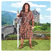 Braveheart William Wallace Great Kilt with Belt Prop Replica