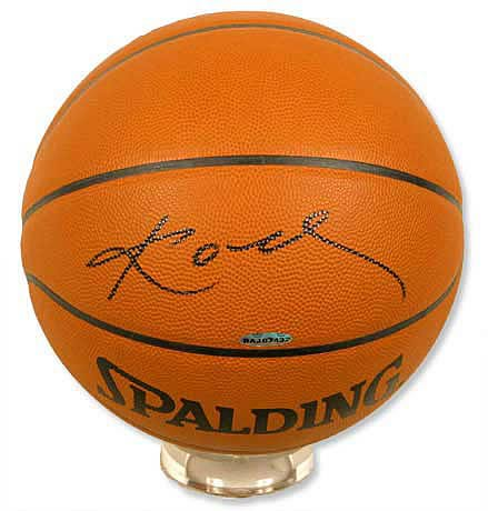 Kobe Bryant Signed NBA Basketball