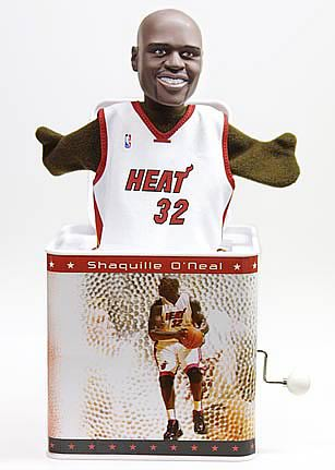 NBA Jox Box Series 2 Shaquille O'Neal - Miami Heat
