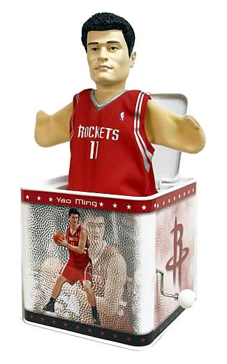 NBA Jox Box Series 1 Yao Ming - Houston Rockets