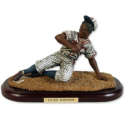 Jackie Robinson Historical Figurine - Kansas City Monarchs