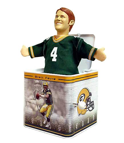 NFL Jox Box Brett Favre - Green Bay Packers
