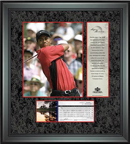 PGA Tiger Woods Framed Photo - 1997 Masters