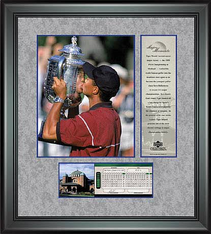 PGA Tiger Woods Framed Photo - 1999 PGA Championship