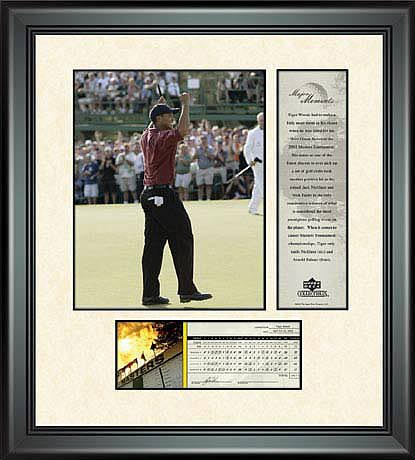 PGA Tiger Woods Framed Photo - 2002 Masters