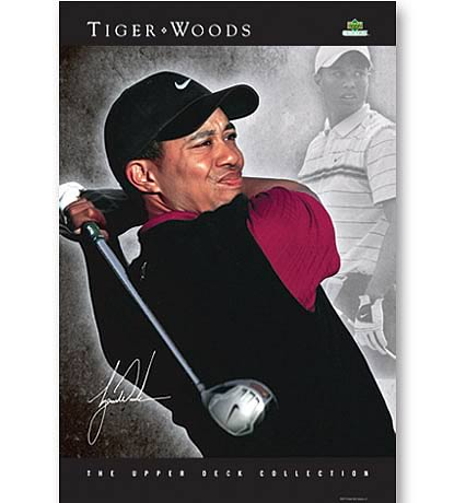 PGA Tiger Woods Poster Collection - Vision