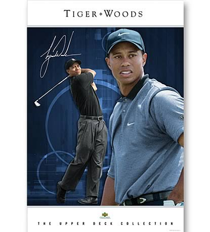 PGA Tiger Woods Poster Collection - Intimidation