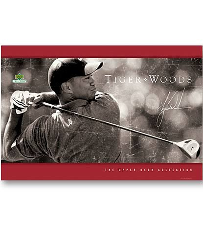 PGA Tiger Woods Poster Collection - Driven