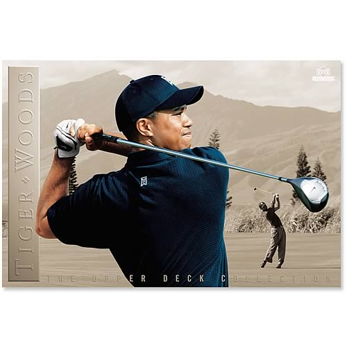 PGA Tiger Woods Poster Collection - Determination