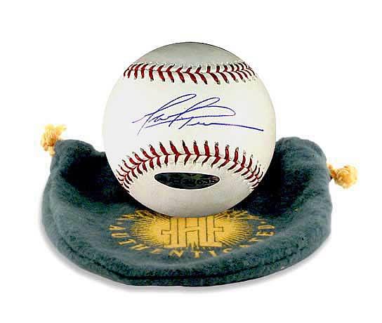 Mark Prior Signed Baseball