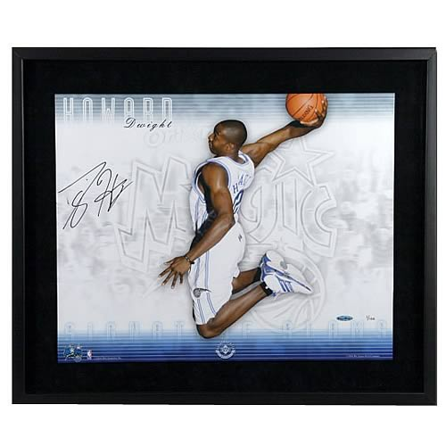 "Dwight Howard Signed Orlando ""Signature Slam"" Framed Photo"