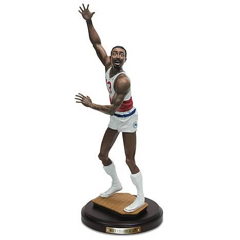 NBA Historical Beginnings Wilt Chamberlain Statue