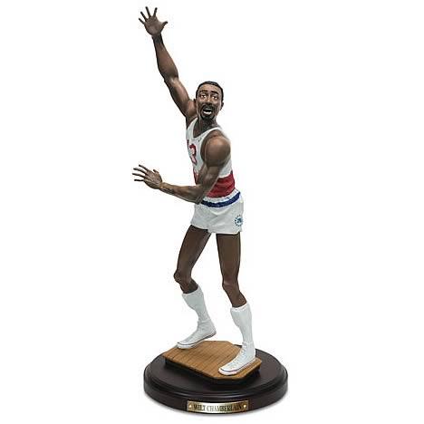 NBA Historical Beginnings Wilt Chamberlain Statue
