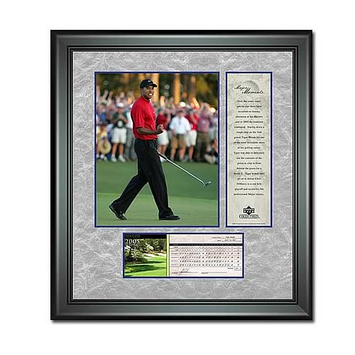 PGA Tiger Woods Framed Photo - 2005 Masters