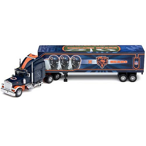 Chicago Bears  NFL Peterbilt Tractor Trailer