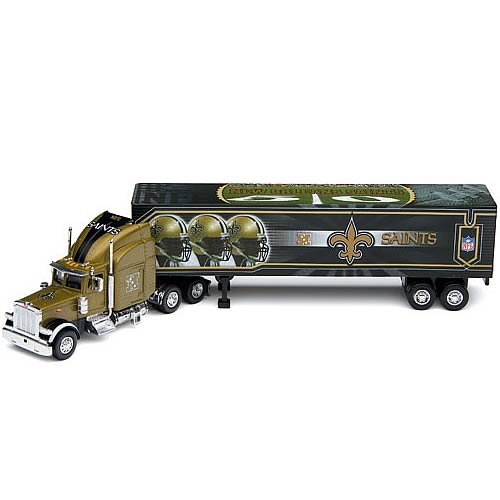 New Orleans Saints NFL Peterbilt Tractor Trailer