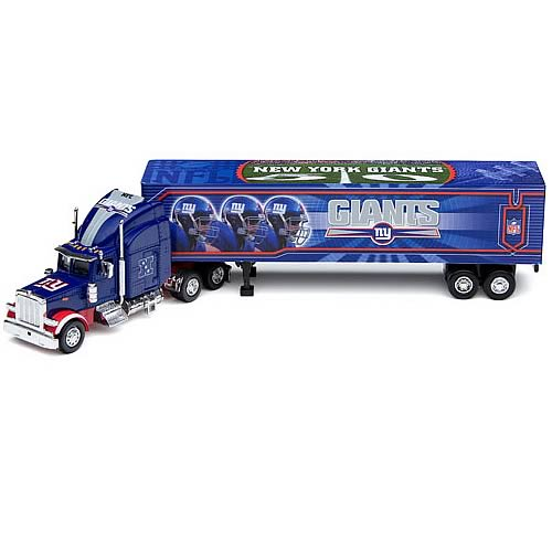 New York Giants NFL Peterbilt Tractor Trailer