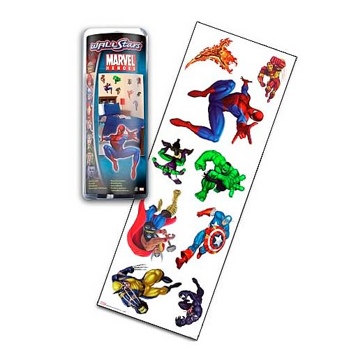 Marvel Heroes Wall Stars