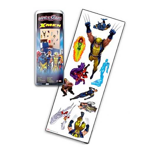 Marvel X-Men Wall Stars