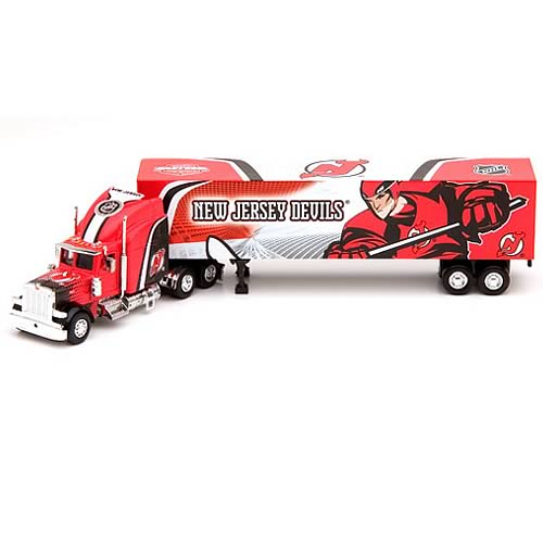 New Jersey Devils NHL Peterbilt Tractor-Trailer