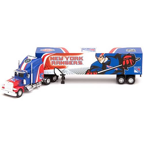 New York Rangers NHL Peterbilt Tractor-Trailer