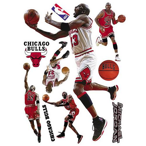 Michael Jordan NBA Wall Stars