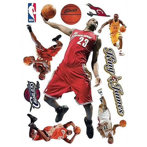Lebron James NBA Wall Stars