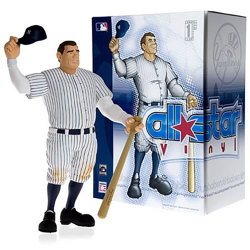 MLB All-Star Babe Ruth Vinyl Figure