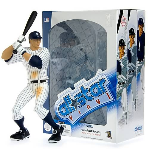 MLB All-Star Alex Rodriguez (Home Jersey) Vinyl Figure