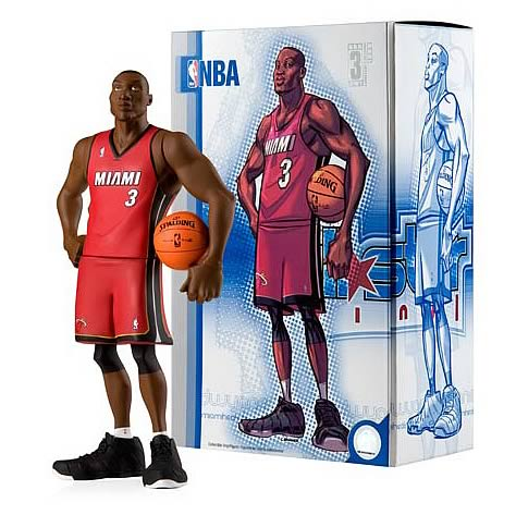 NBA All-Star Dwyane Wade Vinyl Figure