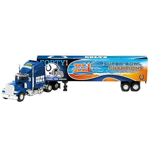 Indianapolis Colts Super Bowl XLI Peterbilt Tractor-Trailer