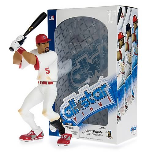 MLB All-Star Albert Pujols (Home Jersey) Vinyl Figure