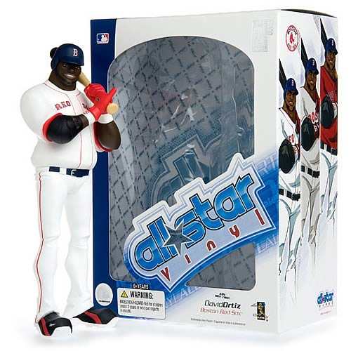 MLB All-Star David Ortiz (Home Jersey) Vinyl Figure