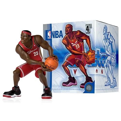 NBA All-Star LeBron James Vinyl Figure