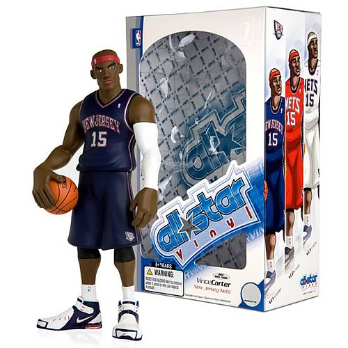 NBA All-Star Vince Carter (Blue Road Jersey) Vinyl Figure