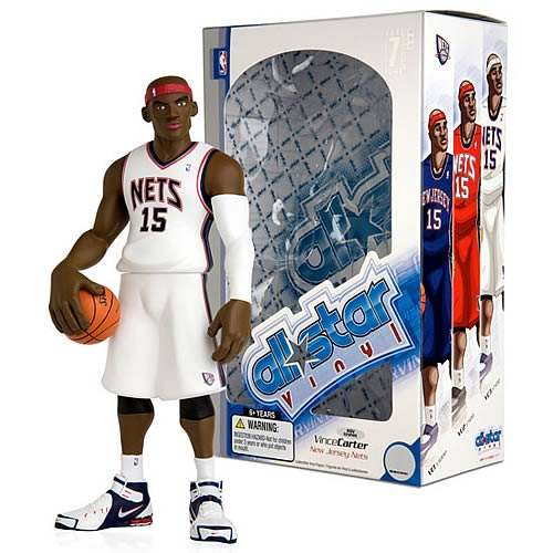 NBA All-Star Vince Carter (Home Jersey) Vinyl Figure