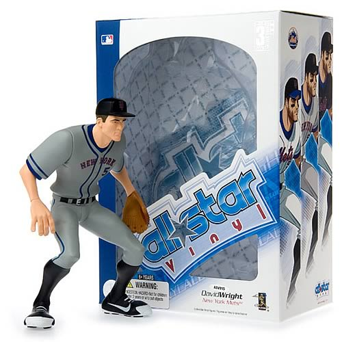 MLB All-Star David Wright (Road Jersey) Vinyl Figure