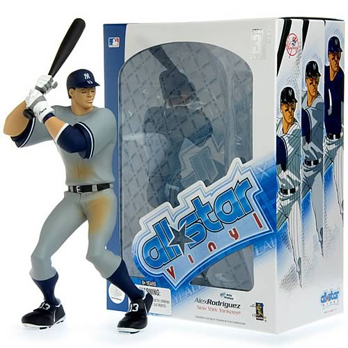 MLB All-Star Alex Rodriguez (Road Jersey) Vinyl Figure