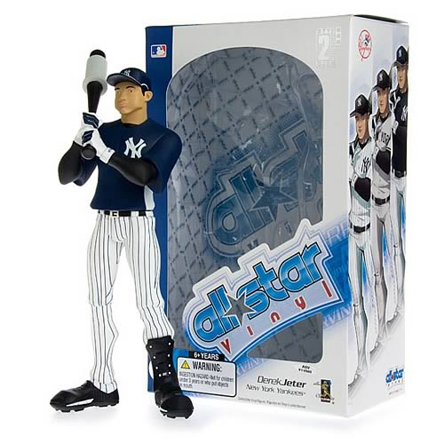 MLB All-Star Derek Jeter (Home Batting Practice) Figure