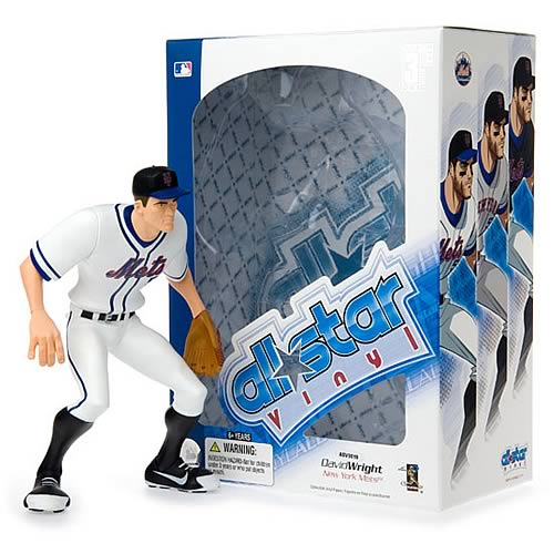 MLB All-Star David Wright (Home Jersey) Vinyl Figure