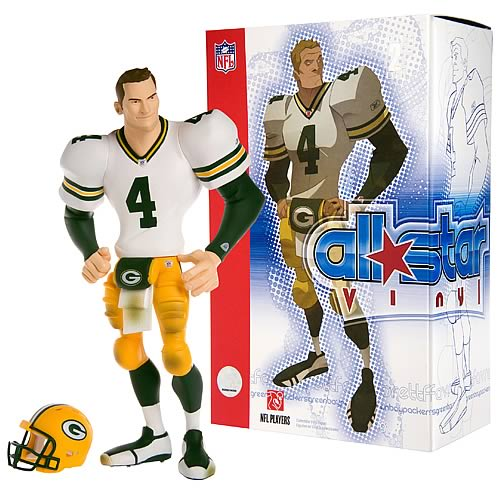 NFL All-Star Brett Favre (Road Jersey) Vinyl Figure
