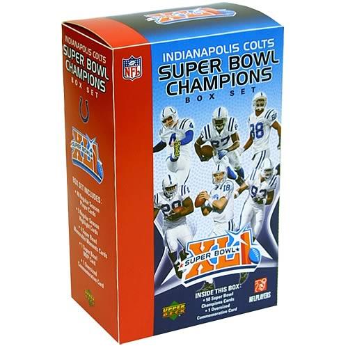 Indianapolis Colts Super Bowl XLI Commemorative Box Set
