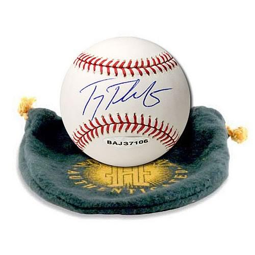 Troy Tulowitzki Signed Baseball