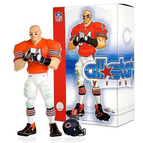 NFL All-Star Brian Urlacher (Alternate Jersey) Vinyl Statue