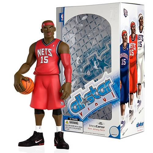 NBA All-Star Vince Carter (Road Jersey) Vinyl Figure