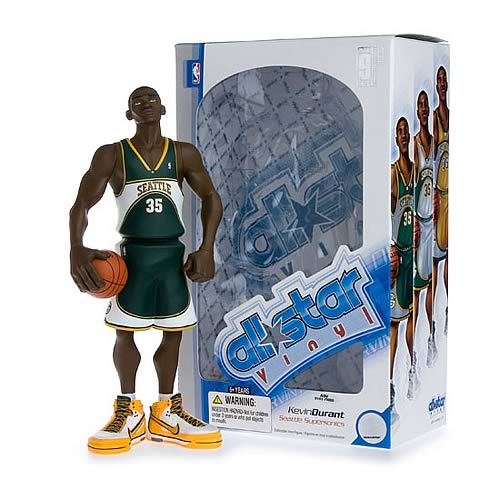 NBA All-Star Kevin Durant (Road Jersey) Vinyl Figure