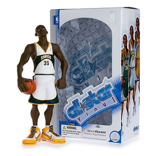 NBA All-Star Kevin Durant (Home Jersey) Vinyl Figure