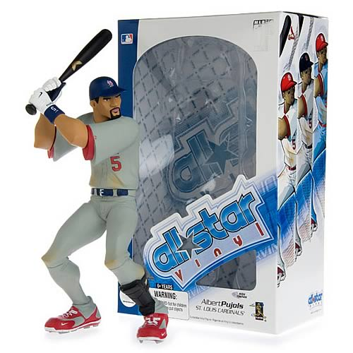MLB All-Star Albert Pujols (Road Jersey) Vinyl Figure