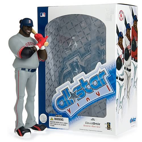 MLB All-Star David Ortiz (Road Jersey) Vinyl Figure